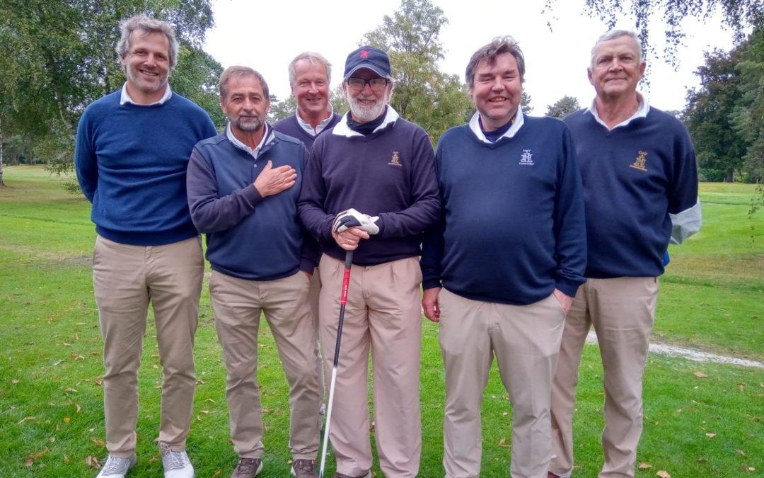 Finale Interclubs Seniors Men I div 4